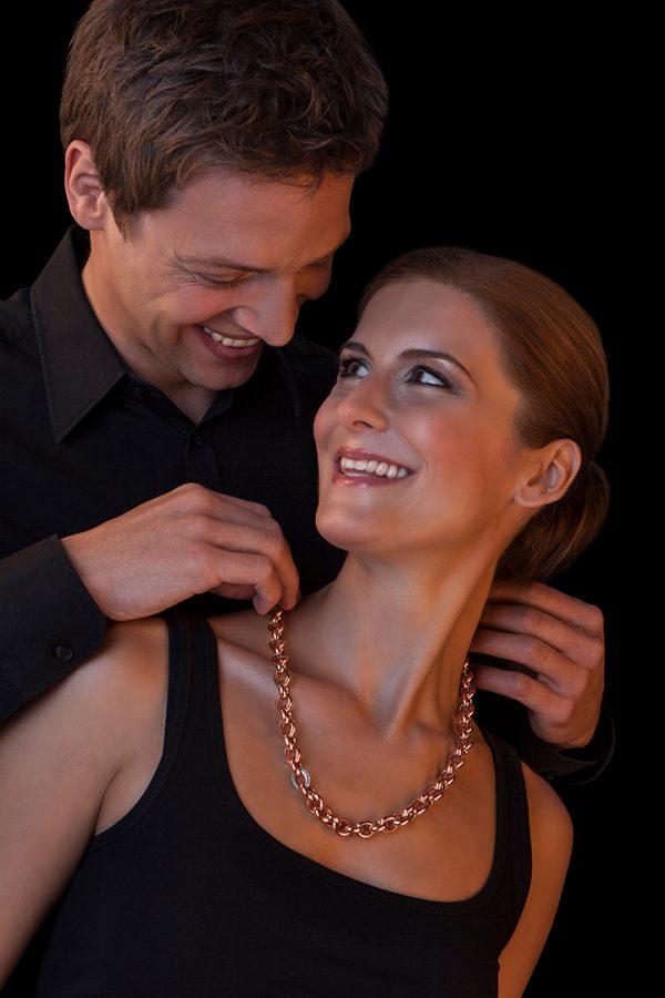 Jewellery photography - jewellery model shooting