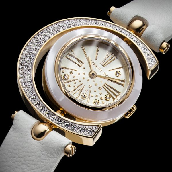 Cerruti watch - Image photography. A watch photo you like to touch