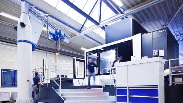 Company Website. CNC centre of DMG at Kappler in Gräfenhausen