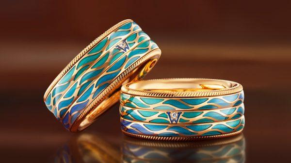 Jewellery photography Wellendorff rings. Jewel photo for brand book