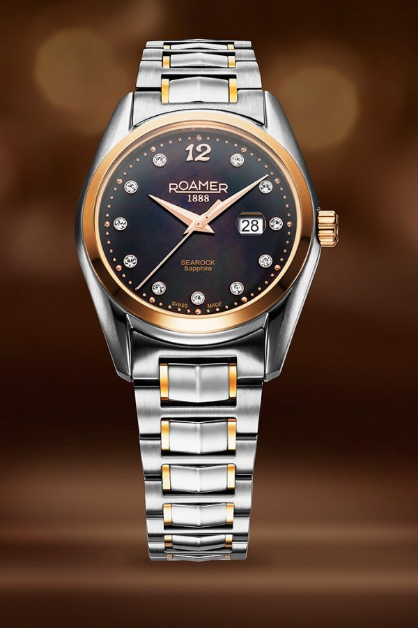 Watch photography for advertising - Roamer ladies watch