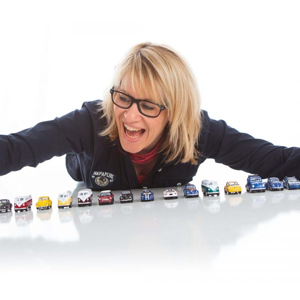 Portrait for sales van for toys company