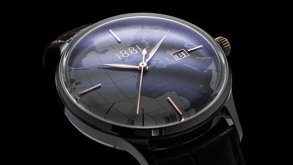 A Detailshot of a Cerruti watch photo taken by the specialist: the watchphotographer