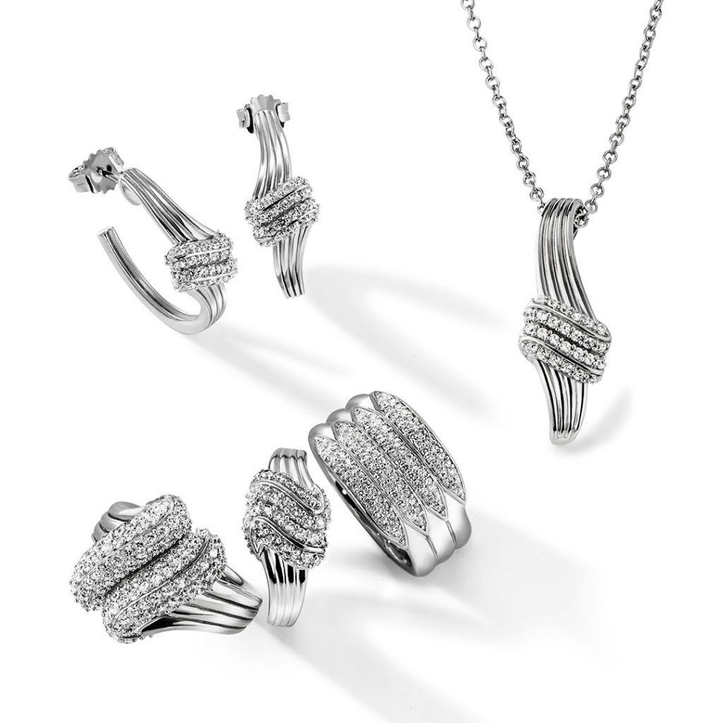 Jewellery shot for a catalogue - Merii jwellery