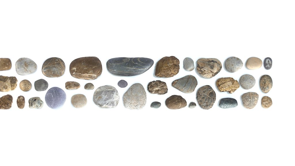 stones from a field - personal work -