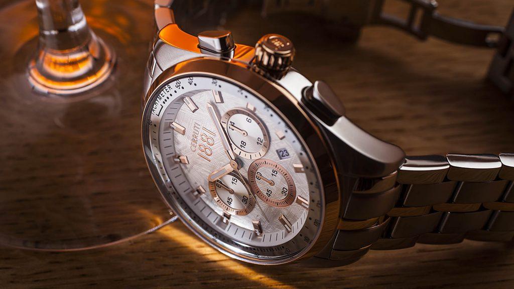 Cerruti watch, shot done for Instagram