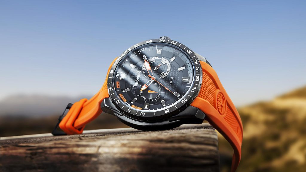 Photography Imagecampaign Timberland watches. Remote lifestyle in perfection taken in a watch photo