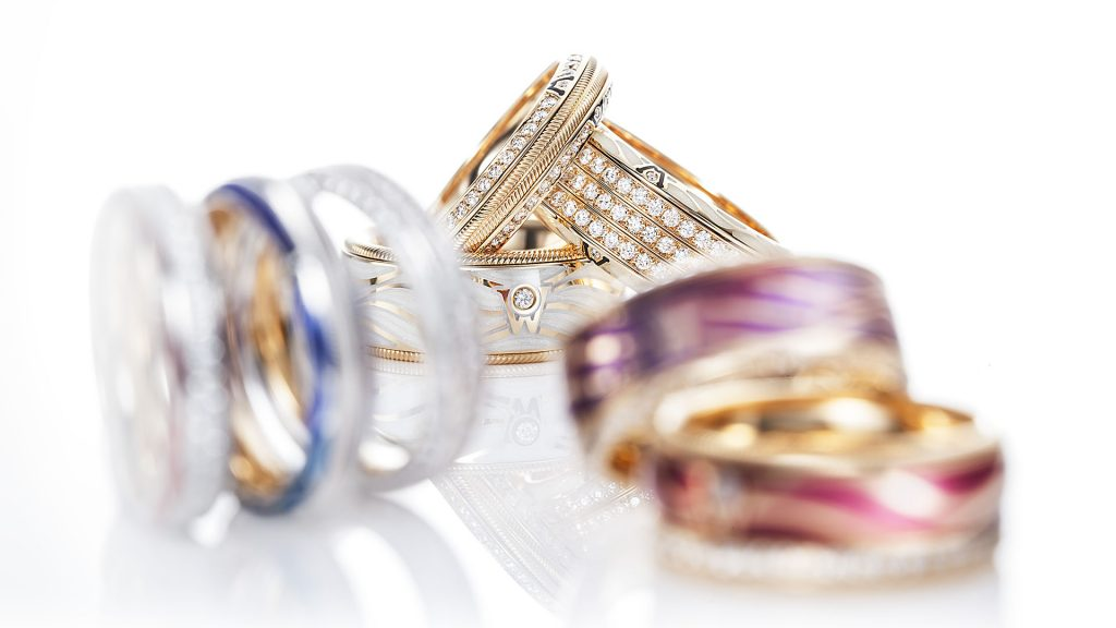 Photography of rings for Public Relation