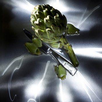 At night in the kitchen - Broccoli -
