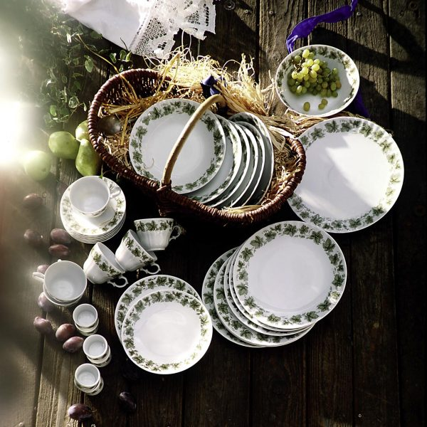 Photography dishes. Shot in studio