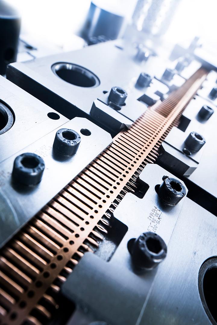 Industriefotografie: Imagefoto Stanzwerkzeug