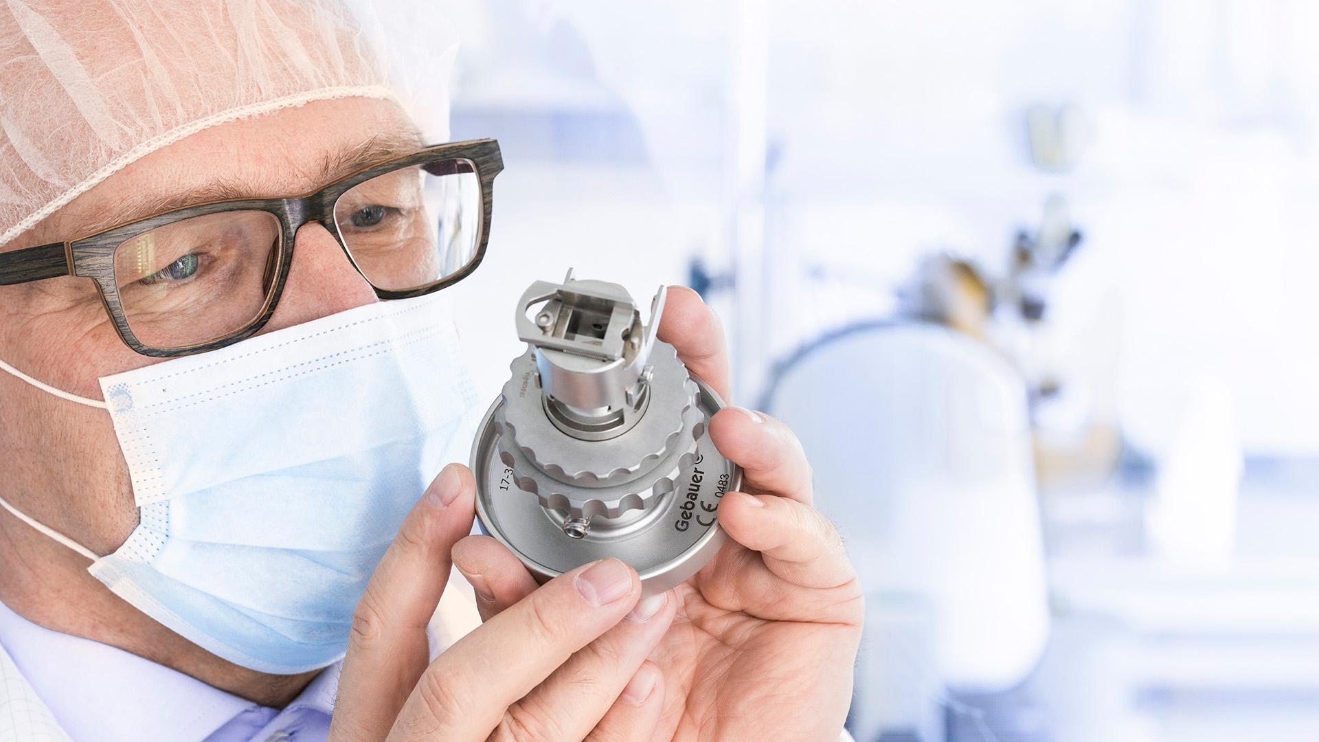 Medizintechnik - Fotografie für Website und Imagebroschüre