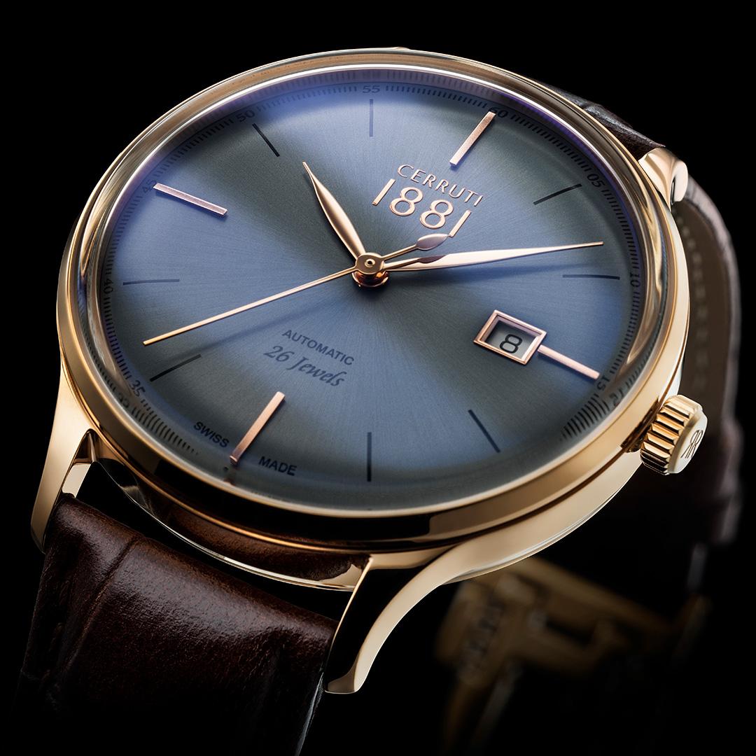 Cerruti watch - Imageaufnahme für Katalog