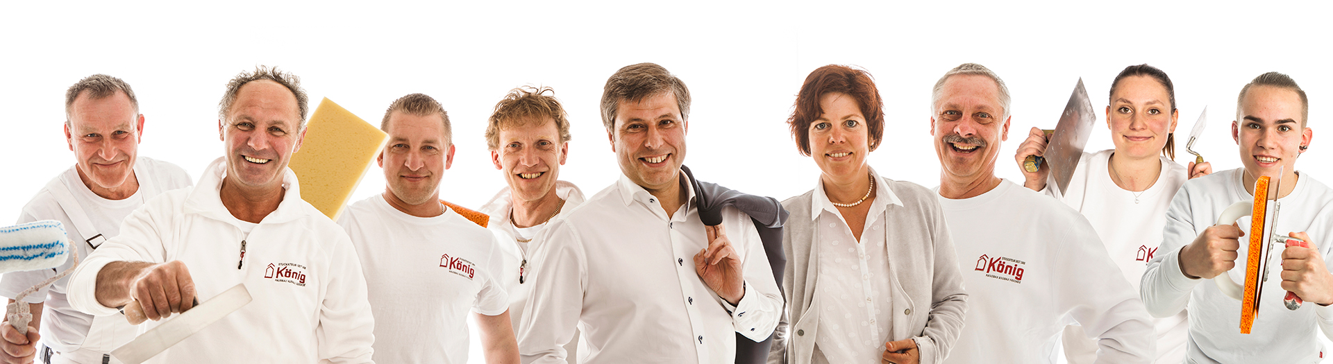 Fotografie für das Handwerk: das Stukkateur Team